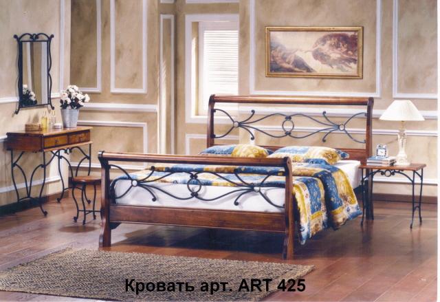Кровать 425, размер 140х200