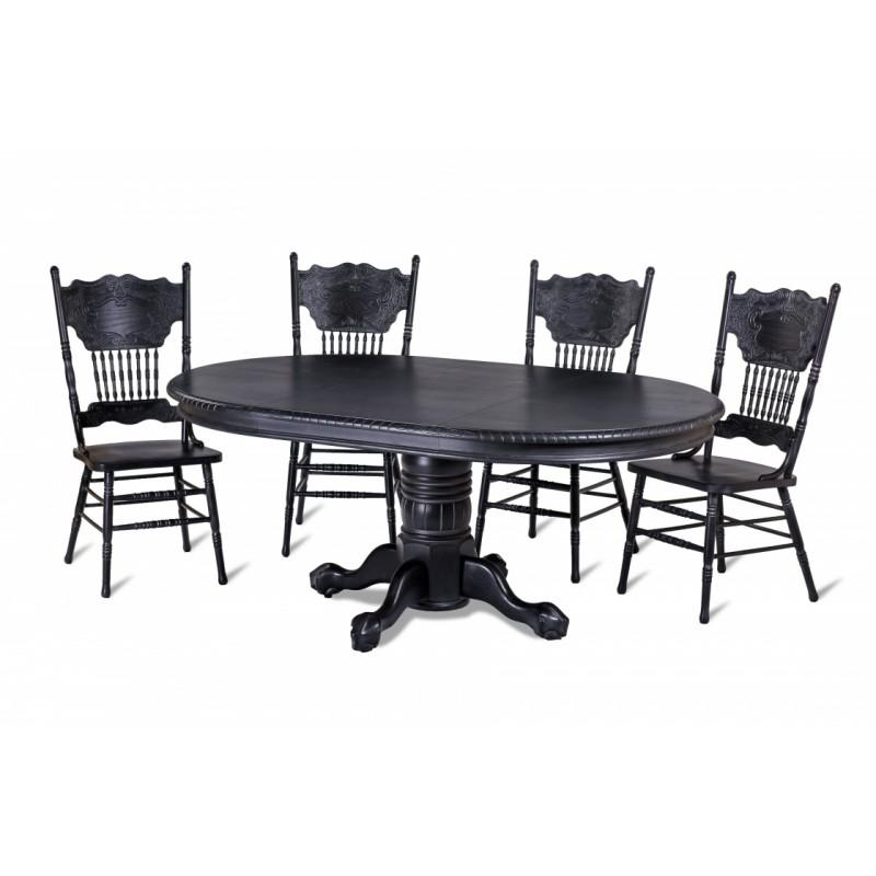 Стол обеденный 4872 SWC антик