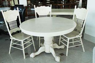 Стол обеденный 4872 STC антик